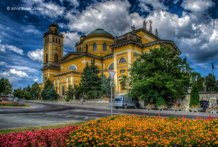 The Cathedral in Eger, Hungary