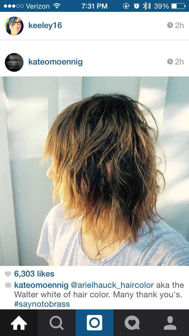 Best Kate Moennig Shane Images On Pinterest Katherine - Shane hairstyle color