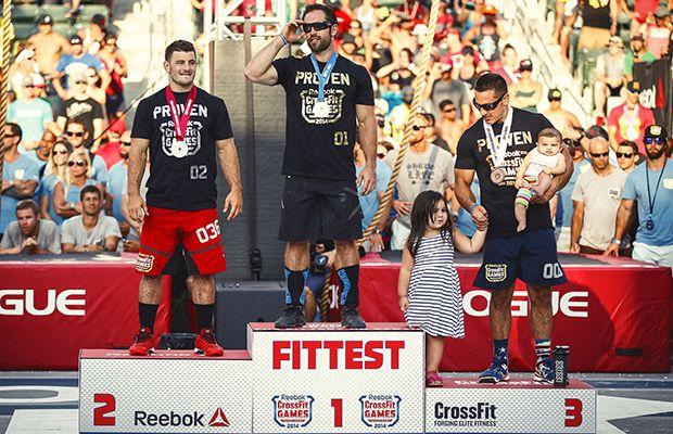 Rich Froning, Matt Fraser, Jason Khalipa 2014 CrossFit Games winners