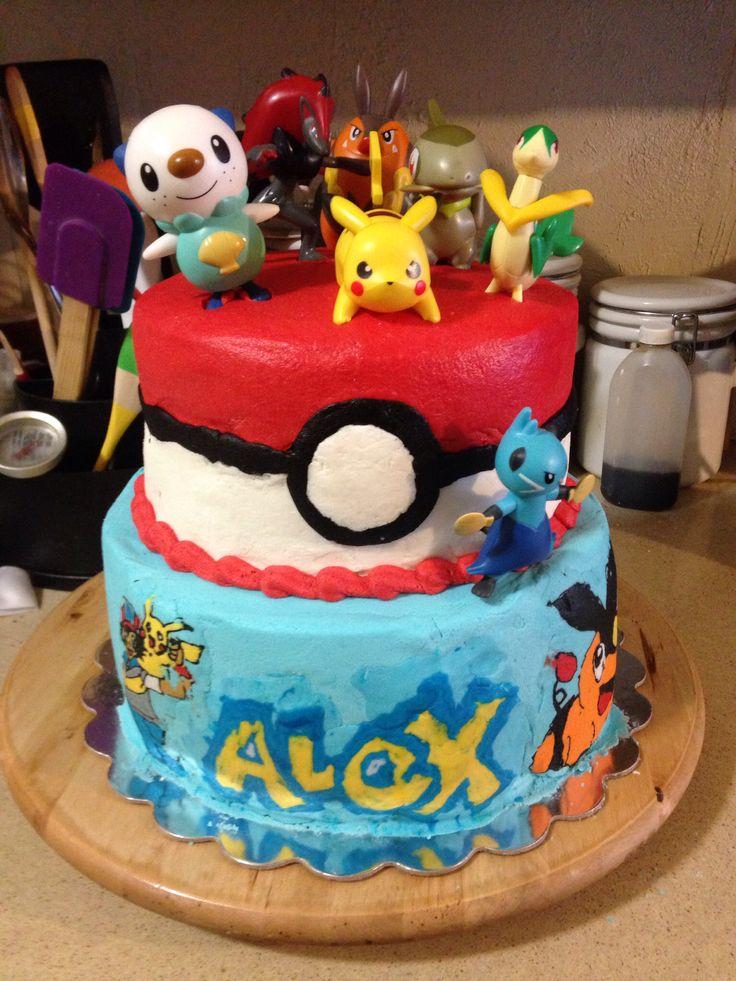 Yo Kai Birthday Cake