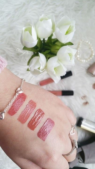 Makeup Revolution Swaches