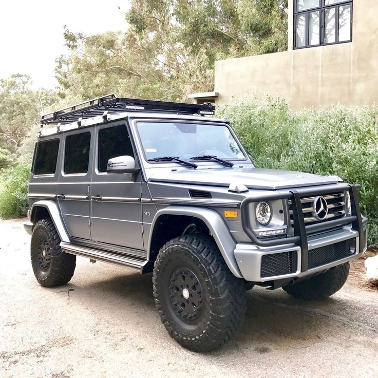 155 best images about mercedes class g on pinterest for Mercedes benz g class 4x4