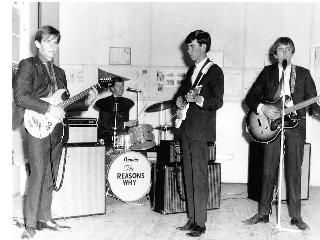 Forbes band The Reasons Why play to a sellout Girl Guides Hall in 1967. From left, David, Graham, Paul and Ringo... sorry, that's Bill. The boys played to tens of fans at functions during the late 60s and early 70s. Supplied by: Carolyn Huckel