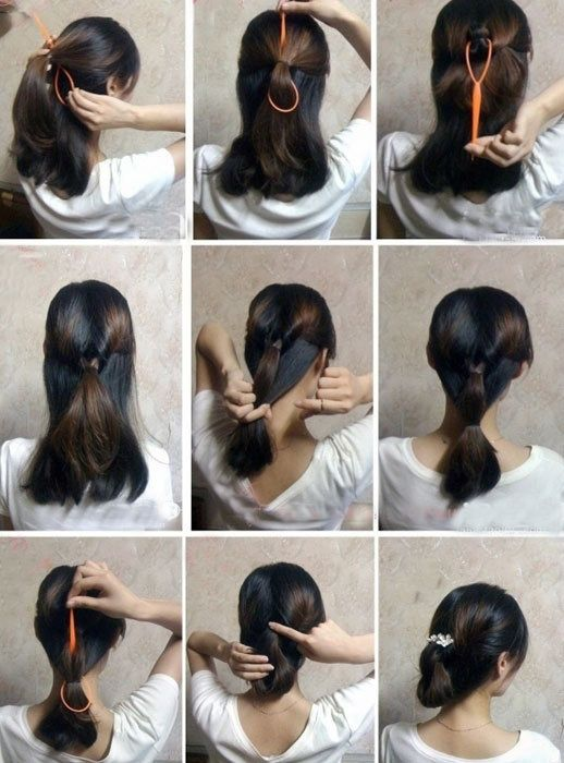 Swell 1000 Images About Diy Hair Styles On Pinterest Short Hairstyles Gunalazisus