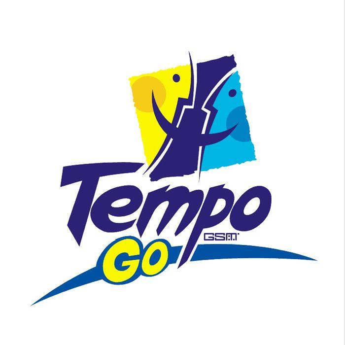 Logo of sub-brand Tempo Go