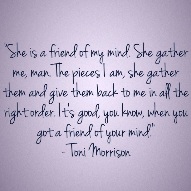 The mother and daughter relationship in the novel beloved by toni morrison