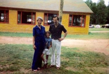 """Rich Cohen (co-creator of HBO's """"Vinyl"""" along with Mick Jagger and Martin Scorses and the author of the just released """"The Sun & The Moon & The Rolling Stones"""") just released this picture of him and his folks on Visiting Day from """"a million years ago"""". Check-out the Mess Hall! Great stuff, Rich."""