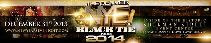 Denver New Years Eve Black Tie Party http://newyearsevenight.com/
