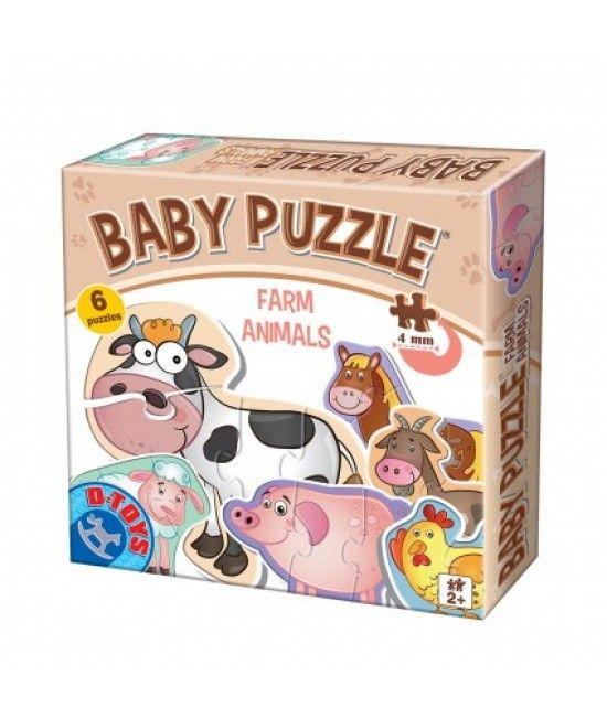 Puzzle-ul face parte din gama Baby Puzzle, este special conceput pentru copii cu varste intre 2 si 4 ani.