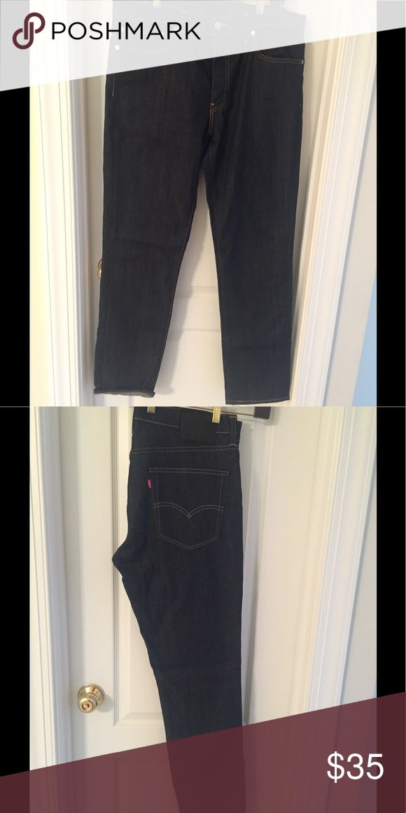 Levi Strauss 511 Black Jeans Levi 511 black demon jeans with front and back pockets.  Waist36 and length 32. Levi's Jeans Slim Straight