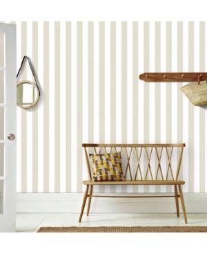 Graham & Brown Helen Glitter Stripe Wallpaper - Gold