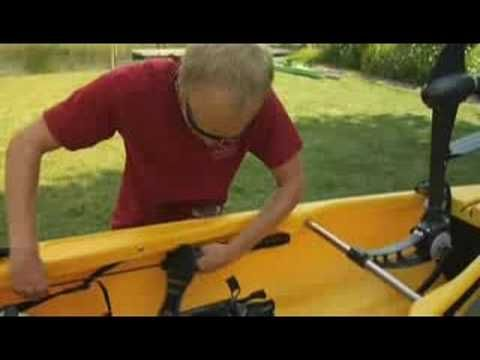 ▶ A Kayak You Can Pedal - YouTube