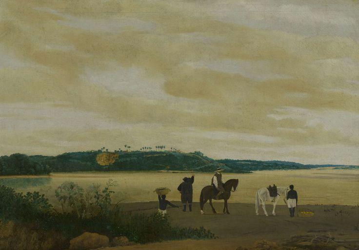 View of Itamaracá Island, Frans Jansz Post, 1637