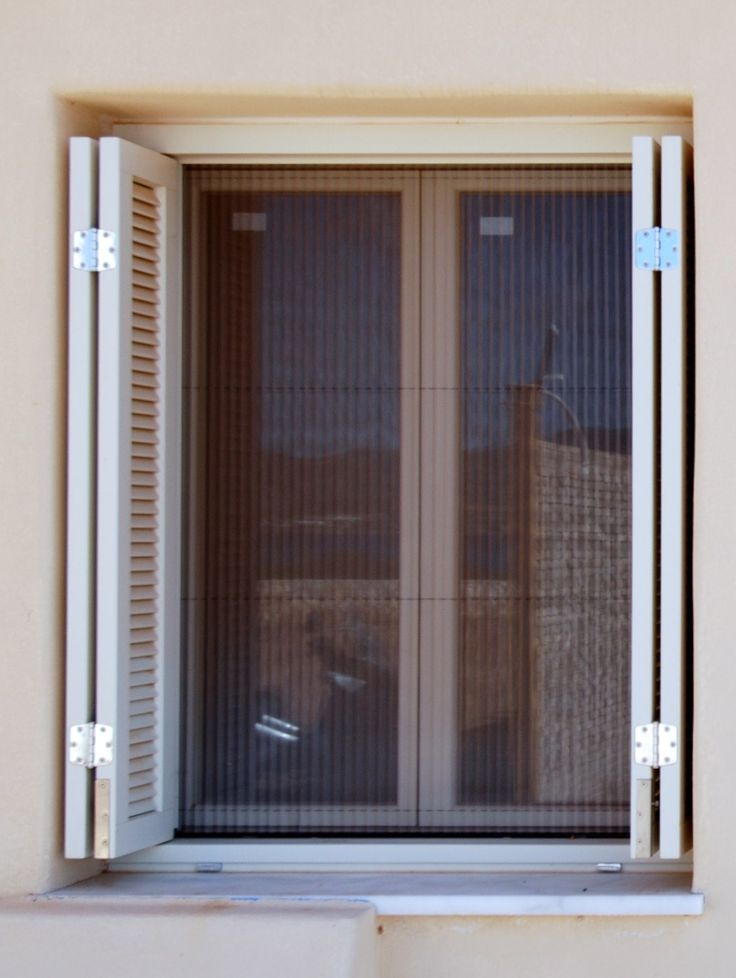 Παράθυρο ΠΡ1 - Πατζούρι ΠΑ23c τετράφυλλο με γρίλιες, πτυσσόμενο