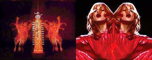 Total RIP OFF of The Acid Queen from Tommy. Madonna managed to steal from Ken Russell and Tina The Queen at the same time!!
