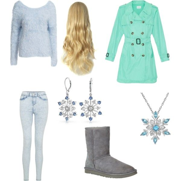 winter #2 by nikita-austin on Polyvore featuring polyvore fashion style Club Monaco UGG Australia Amanda Rose Collection Bling Jewelry
