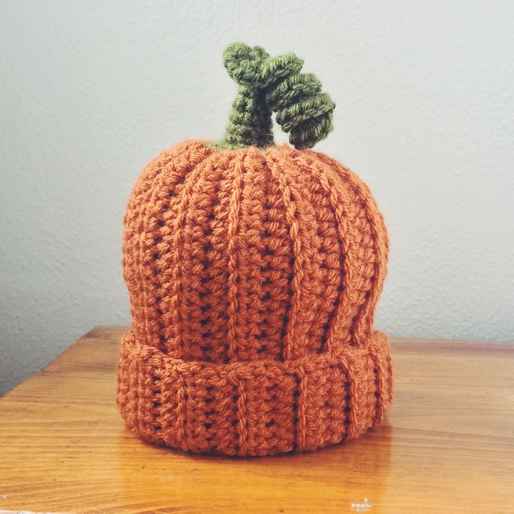 This adorable crochet pumpkin hat made with Vanna's Choice is great for Halloween or for fall, just in general. Check out the pattern on Bowties and Fezzes.