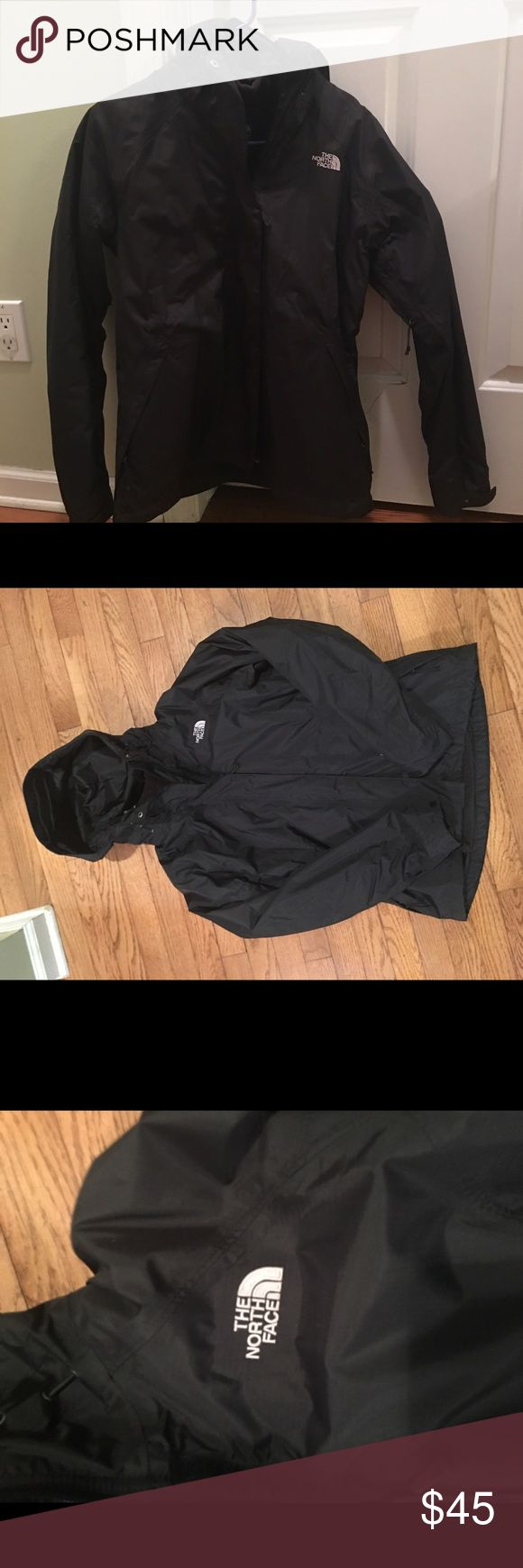 North Face Women Rain Coat Black Sz M North Face Women Black raincoat only worn a couple of times SZ M. The North Face Jackets & Coats Trench Coats