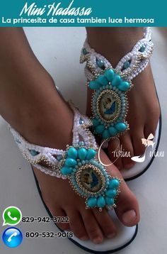 sandalias macrame hechas a mano semana santa caracoles suelas cristina soriano |…