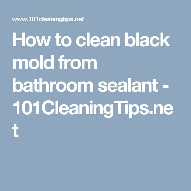 how to clean black mold from inside walls