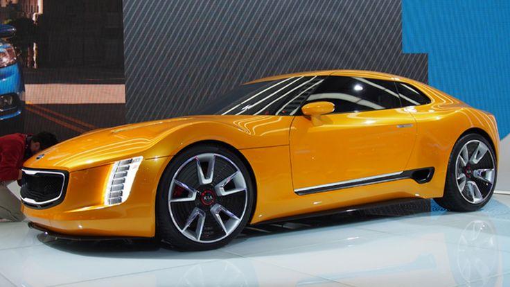 Schillernde Concept Cars auf der Detroit Auto Show  Schillernde Concept Cars auf der Detroit Auto Show