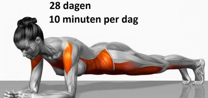 7 eenvoudige oefeningen die je lichaam in slechts 4 weken transformeren | Leesd
