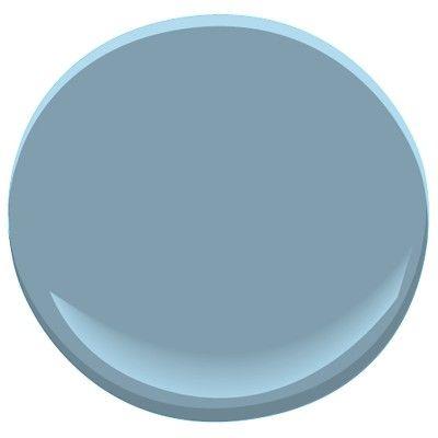 This is my inspiration color! Benjamin Moore Labrador Blue 1670