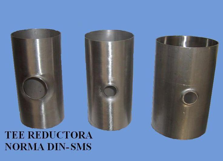 Comercialización de TEE normadas DIN ANSI, como también TEE reductoras u/o especiales.   Estas se encuentran  en distintas dimensiones  DN 70-28 100-28  100-50.