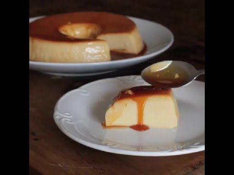 Sweet Condensed Milk Flan (Brazilian style) - YouTube