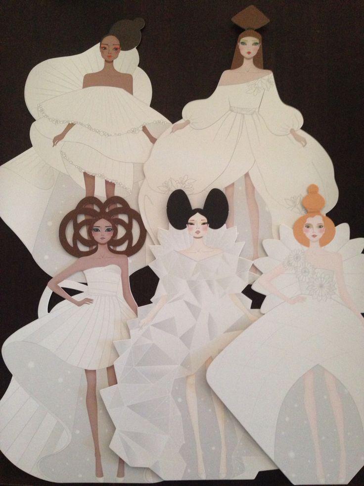 Haute Couture Mon Petit Art paper dolls