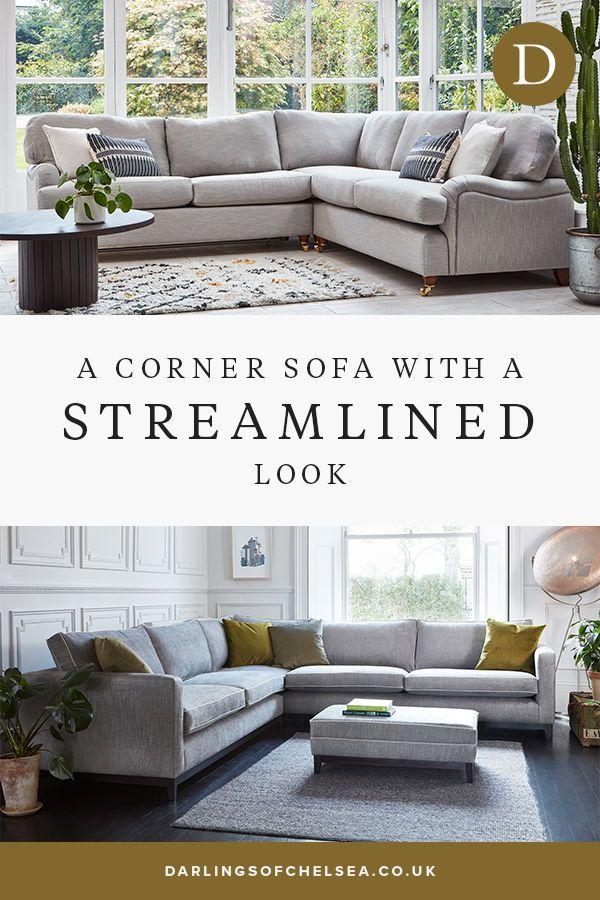 Darwin Corner Sofa In 2020 Corner Sofa Corner Sofa Fabric Beautiful Sofas