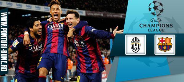 Ponturi pariuri Juventus vs Barcelona –Champions League - Ponturi Bune