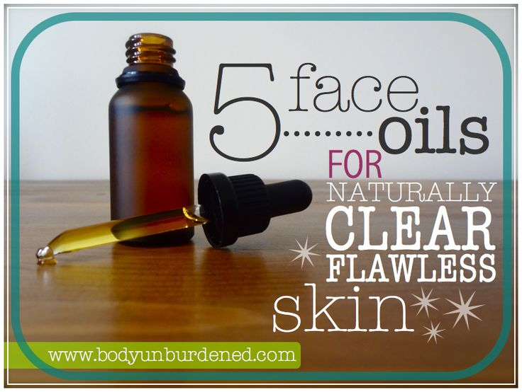 5 face oils for naturally clean flawless skin