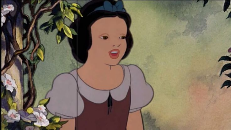 What snow white looks like without makeup.