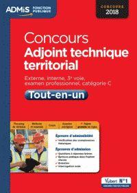 Olivier Bellégo - Concours adjoint technique territorial - Externe, interne, 3e voie, examen professionnel, catégorie C - RDC Cote 351.33 TER