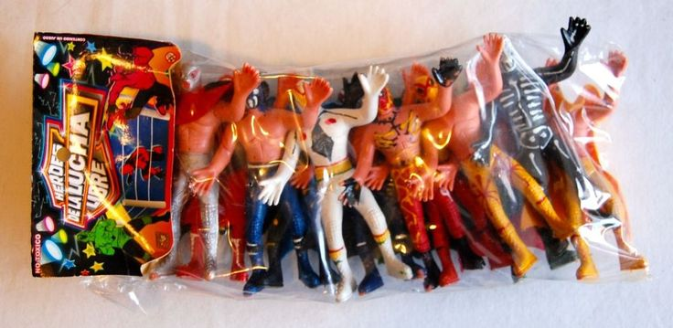12 Pack Lucha Libre Wrestling MIB Action Figure NEW wwe tna roh MOC Hasbro