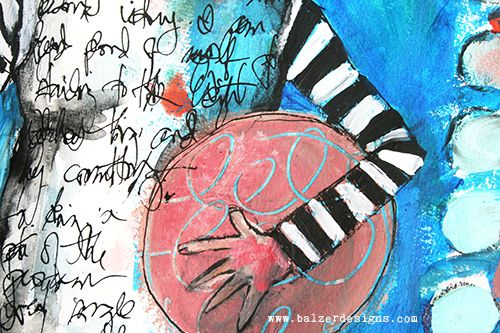 Transforming your handwriting. / Balzer Designs / HoldingtheBall-wm