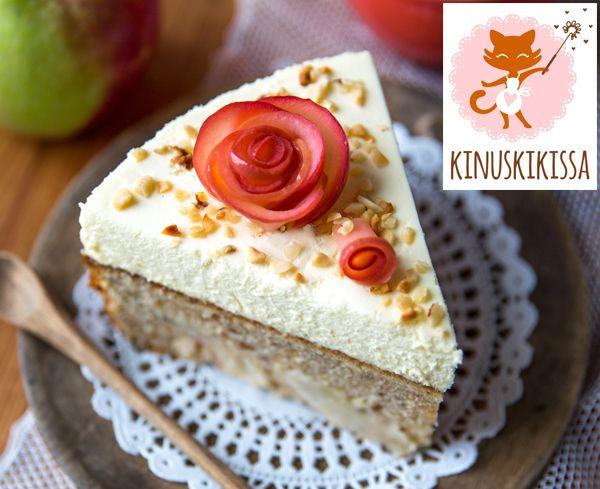Mausteinen omenapiirakka: 150 g voita tai margariinia 1 ½ dl sokeria 2 munaa 3 ½ dl vehnäjauhoja 1 ½ tl Meira leivinjauhetta 2 tl Meira vaniljasokeria 1 tl Meira...