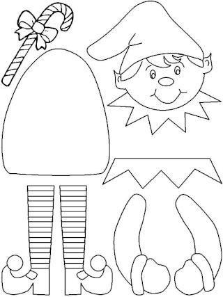 Gabarit elf pour bricolage