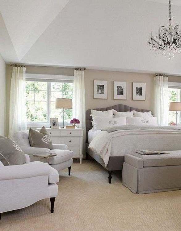 Astounding 34 Luxury Huge Master Bedroom Decorating Ideas Bedroom Home Remodeling Inspirations Genioncuboardxyz