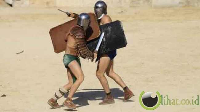 10 Gladiator Terkenal Roma Kuno