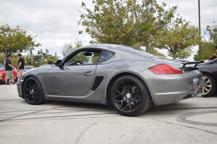 Porsche Cayman with FF01 in Tarmac Black | HRE Performance Wheels