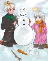 Request : Making a Snowman by ZANNA-Nezuko