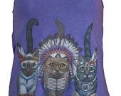 Three Native Kitty Cats