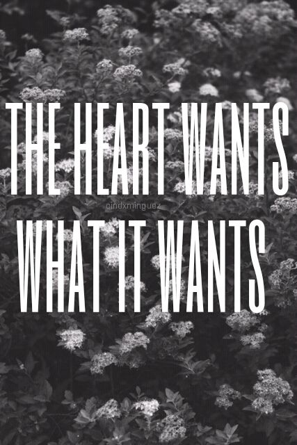 the heart wants what it wants - Google Search