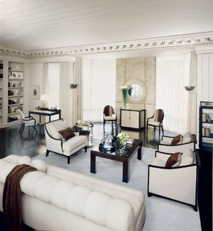 All Hail The Jazz Era Gatsby Living Room From Kreiss Reflects American Deco