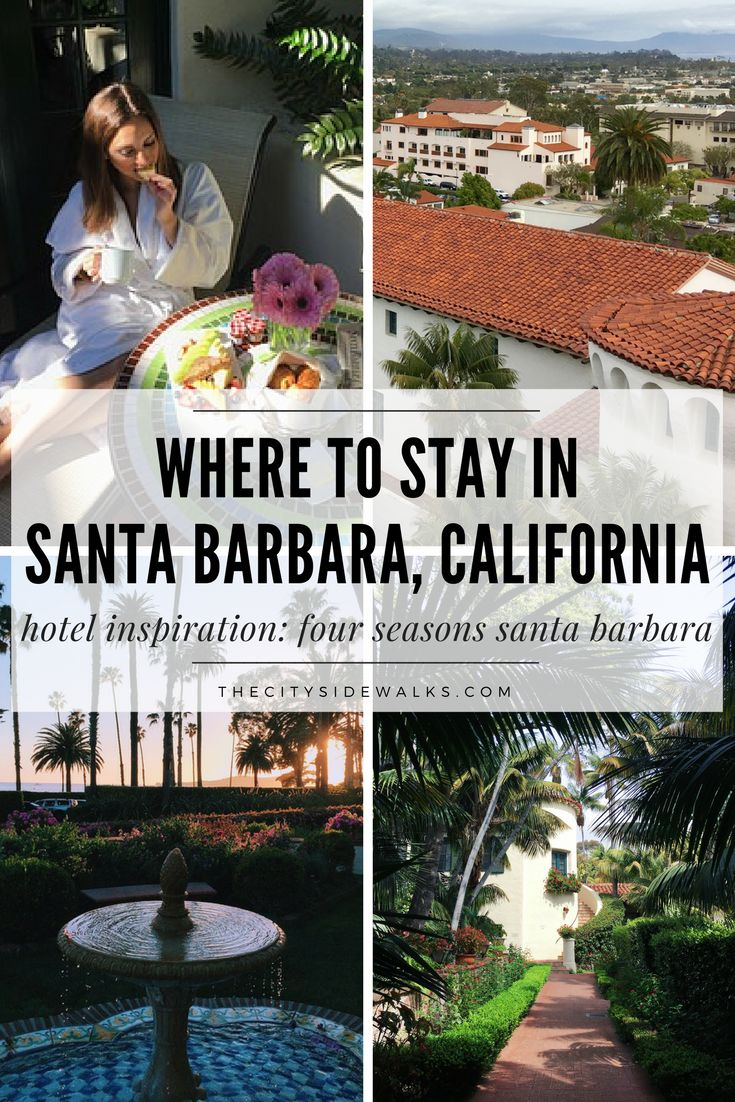 When you're looking for where to stay in Santa Barbara, California, you're going to want a location that offers all of the West Coast's best right at your fingertips. Use this travel guide for travel inspiration on where to stay in Santa Barbara when picking a hotel for your vacation! Read about the Four Seasons Resort The Biltmore Santa Barbara