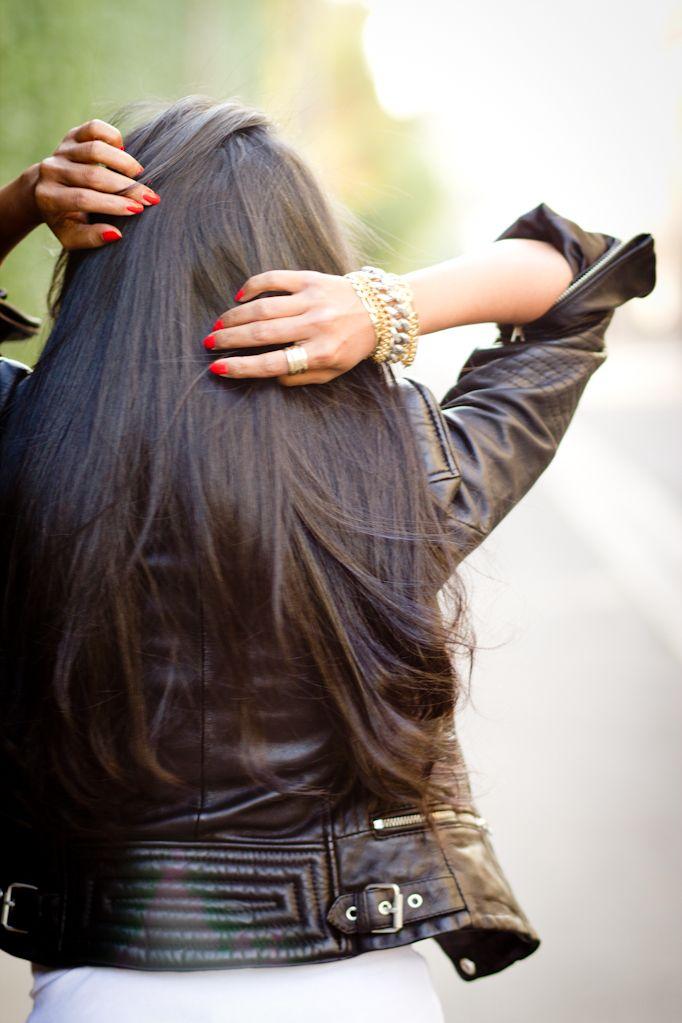 Lang donker haar! #Hair