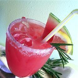 Rosemary-Infused Watermelon Lemonade Allrecipes.com