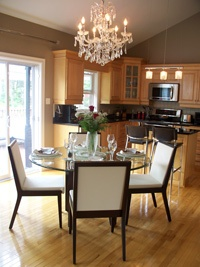 Interiors by Melanie, home staging and home decorating services.